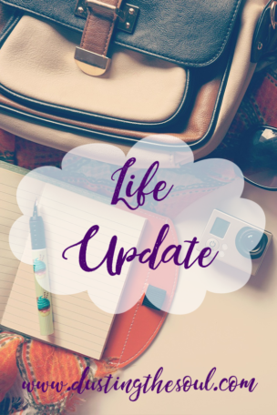 Life Update by Tizzy Brown at www.curiousdaydreams.com
