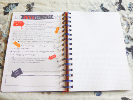 The Blogger's Journal Build Followers Page