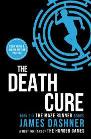 Book cover for Tthe Death Cure by James Dashner