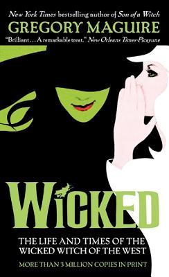 Book cover by Wicked by Gregory McGuire