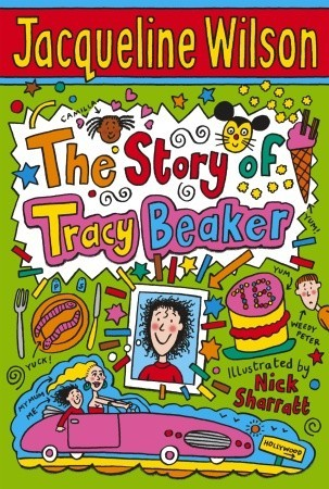 Book cover of The Story of Tracey Beaker
