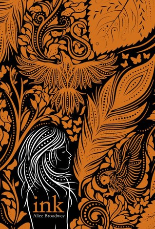 Book cover for Ink by Alice Broadway