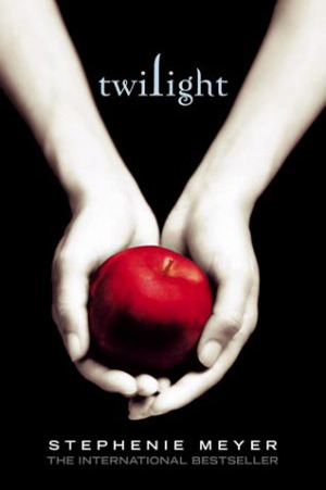 Book cover for Twilight by Stephanie Meyer