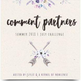 2018 Summer Comment Challenge July badge