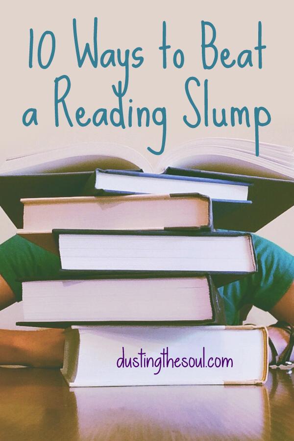 10 Ways to Beat a Reading Slump