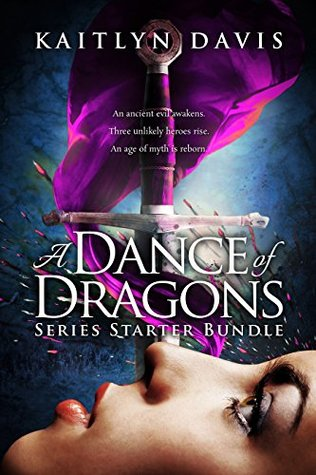Book cover for a Dance of Dragons