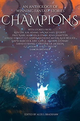 Book cover for Champions: an Anthology of Winning Fantasy Stories