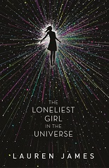 book cover for The Lonliest Girl in the Universe