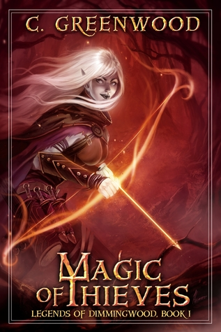 book cover for Magic of Thieves