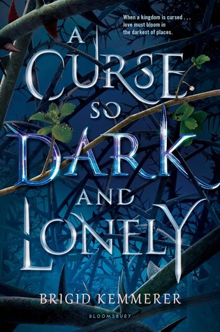 book cover for A Curse so Dark and Lonely
