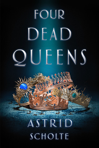 book cover for Four Dead Queens