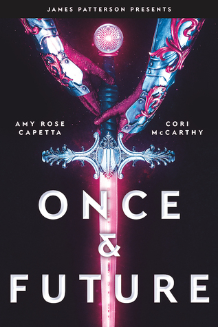 book cover for Once and Future