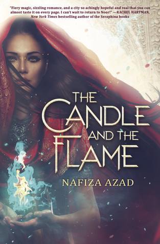 book cover for The Candle and the Flame