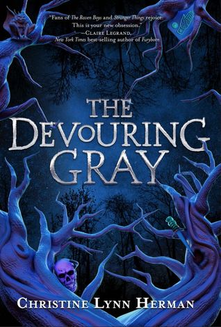 book cover for The Devouring Gray