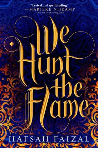 book cover for We Hunt the Flame