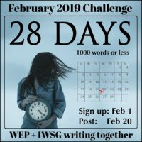 #WEPFF February Challenge: 28 Days