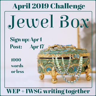 "O is for ""Opal and Onyx""-my   #WEPFF entry for 'Jewel Box'  #AtoZChallenge"