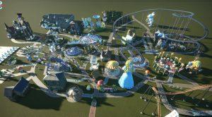 Wonderland theme park designed by Anstice Brown